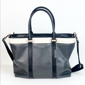 Coach F57568 Perry Business Tote in Colorblock Bag